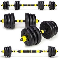 Hantle treningowe kompozytowe 2 x 10kg. HC-2.29-10