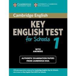 Cambridge KET for Schools 1 Student's Book (podręcznik) with Answers (opr. miękka)