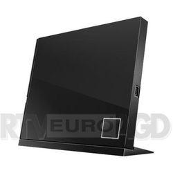 DVD-REC BLU-RAY odczyt/ ASUS SBC-06D2X-U USB SLIM BOX SBC-06D2X-U/BLK/G/AS - odbiór w 2000 punktach - Salony, Paczkomaty, Stacje Orlen
