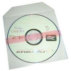 Koperty foliowe z klapką na CD/DVD z klejem 100 mikron 100szt
