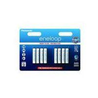 Akumulatorki, 8 x Panasonic Eneloop R03/AAA 800mAh BK-4MCCE/8BE (blister)