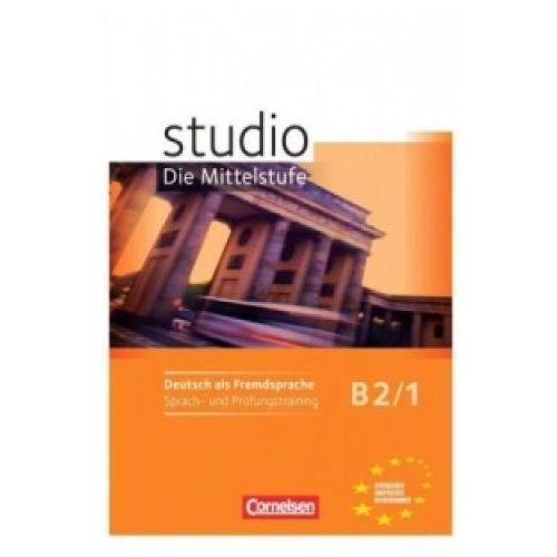 Książki do nauki języka, Studio d B2/1. Zeszyt ćwiczeń (opr. miękka)