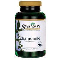 Detox i oczyszanie organizmu, Chamomile (Rumianek pospolity) 350mg 120 kaps.
