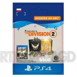 Tom Clancy's The Division 2 - Pakiet 6500 Kredytów [kod aktywacyjny] PS4