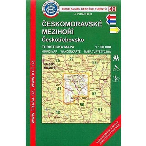 Pozostałe książki, KČT 49 Českomoravské mezihoří Českotřebovsko neuveden