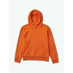 bluza DIAMOND - Brilliant Overdyed Oversized Hoodie Orange (ORG) rozmiar: M