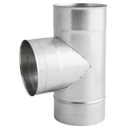Trójnik 110 mm 90 stopni ocynk