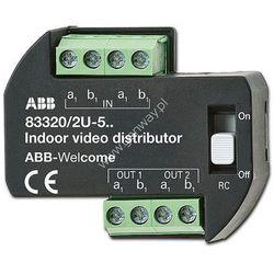 ABB Rozdzielacz wideo podtynkowy (83320/2 U-500) 83320/2 U-500 - Rabaty za ilości. Szybka wysyłka. Profesjonalna pomoc techniczna.