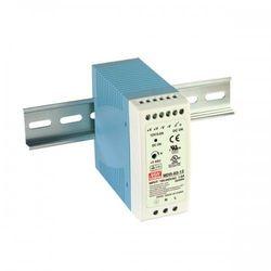 MEAN WELL Zasilacz impulsowy na szynę DIN Uwe: 100-240V AC, Uwy: 24V DC Iwy: 0-2.5A moc: 60W MDR-60-24