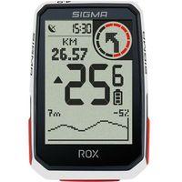 Liczniki rowerowe, SIGMA SPORT ROX 4.0 Bike Computer incl. Stem Bracket, biały 2021 Urządzenia GPS