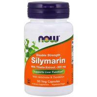Pozostałe ziołolecznictwo, Now Foods Silymarin Double Strength 300 mg 50 kapsułek - 50 kapsułek