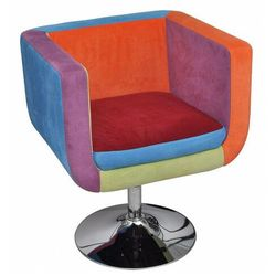 Klubowy fotel patchworkowy - Brick