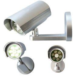 Lampa bezpieczeństwa/kamera z czujnikiem ruchu, 6 LED