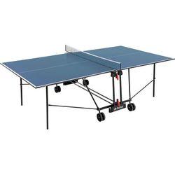 Stół do tenisa stołowego BUFFALO BASIC wewnętrzny niebieski