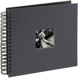 Album HAMA Fine Art Czarne kartki 50 stron Szary (28X24 cm) + Zamów z DOSTAWĄ JUTRO!
