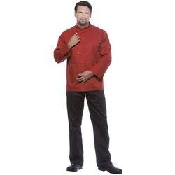 Bluza kucharska męska, rozmiar 46, czerwona   KARLOWSKY, Julius