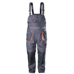 Spodnie ogrodniczki r. L/54 szare CLASSIC NORDSTAR
