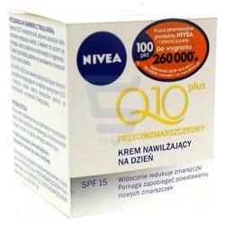 Nivea Visage Q10 Przeciwzmarszczkowy nawilżajacy krem do twarzy na dzień 50 ml