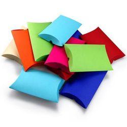 Pudełko ozdobne - poduszka M Mix kolorów