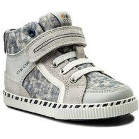 Półbuty i trzewiki dziecięce, Sneakersy GEOX - B Kilwi B. C B82A7C 022PA C1303 M Lt Grey/White