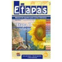 Książki dla dzieci, Etapas 3 Podręcznik + ćwiczenia + CD audio (opr. miękka)