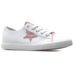 Trampki Big Star DD274691 Białe/Różowe