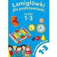 Książki dla dzieci, Łamigłowki dla podstawówki Klasy 1-3 - Praca zbiorowa