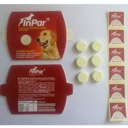 Inpar tabletki odrobaczające dla psa - 6 tabletek marki Vet-agro
