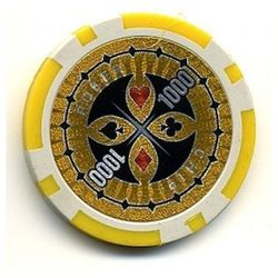 Mks Żeton do gry z nominałem 1000 kasyno poker