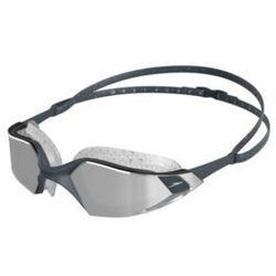 speedo Aquapulse Pro Mirror Okulary pływackie, oxid grey/silver/chrome 2020 Okulary do pływania