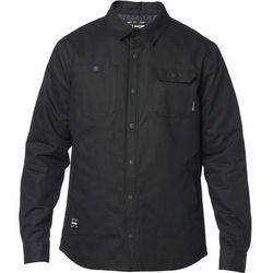 Koszula - montgomery lined work shirt black (001) marki Fox