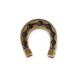 PORTFELOWA PODKÓWKA NA SZCZĘŚCIE talizmany kolor stare złoto podkowa dla miłośników koni, aj2147
