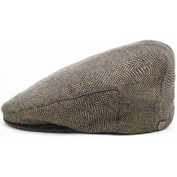 plaska czapka BRIXTON - Hooligan Brown/Khaki 0402 (0402), kolor brązowy