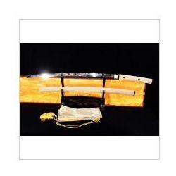 Kuźnia mieczy samurajskich Miecz samurajski shirasaya maru stal wysokowęglowa 1095, hartowany glinką r785