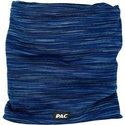 P.a.c. snood merino komin, niebieski one size 2021 chusty wielofunkcyjne