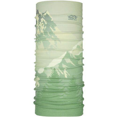 P.a.c. komin wielofunkcyjny merino, zielony one size 2021 chusty wielofunkcyjne (4250605974268)