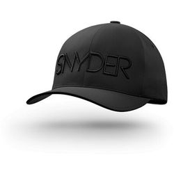 Czapka golfowa snyder delta black l/xl, yupoong, flexfit marki Snyder golf