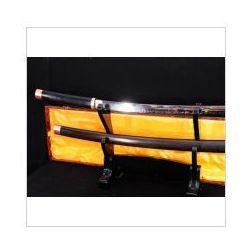 Miecz samurajski shirasaya maru stal wysokowęglowa 1095, hartowany glinką, hebanowa saya r799 marki Kuźnia mieczy samurajskich