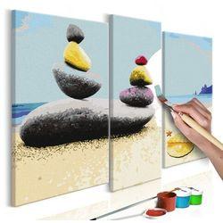 Artgeist Obraz do samodzielnego malowania - wakacyjna plaża