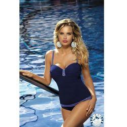 kostium kąpielowy v2, kolor: navy, materiał: poliester/lycra, rozmiar stroju treningowego: d44 marki Self