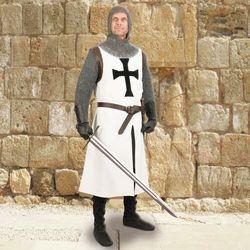 Płatnerze Historyczna rycerska tunika krzyżacka (ws101596) l/xl