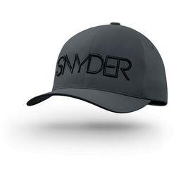 Snyder golf Czapka golfowa snyder delta dark grey s/m, yupoong, flexfit (4053838323700)