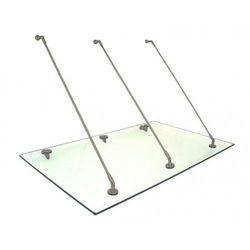 Metal-gum Daszek zadaszenie szklane drzwi 150x150
