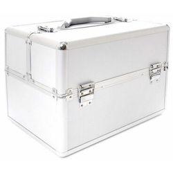 Active kuferek kosmetyczny standardowy (srebrny)