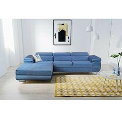 Sofa narożnik agrigento rozkładana z funkcją spania i pojemnikiem dostawa 0 zł marki Big meble