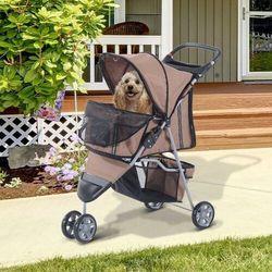 Aosom Wózek spacerówka dla psa