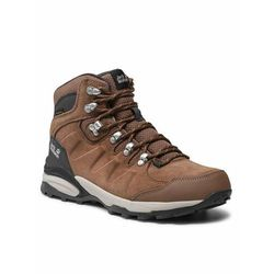 Jack Wolfskin Trekkingi Refugio Texapore Mid W 4050871 Brązowy (4060477909165)