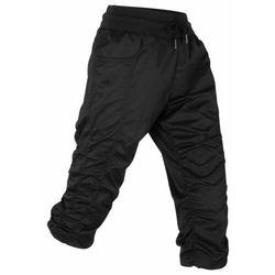 Bonprix Spodnie trekkingowe funkcyjne, dł. 3/4 czarny